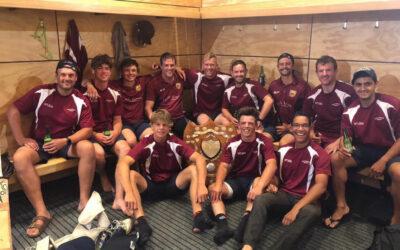 Newman Shield won by Marlborough Senior Rep Team